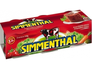 Simmenthal  carne magra in gelatina  gr 140 x 3