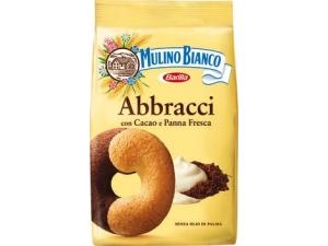 Mulino bianco  biscotti ricchi  • abbracci gr 350 • pan di stelle gr 350  • batticuori gr 350  • nascondini gr 330 • cuor di mela gr 300