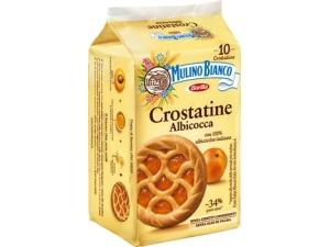 Mulino bianco  10 crostatine • albicocca • al cacao gr 400
