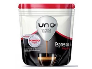 Kimbo uno  capsule system espresso • napoletano • sublime  gr 112