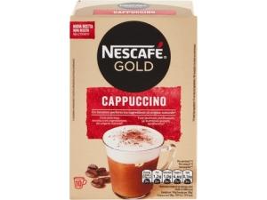 Nescafè gold preparato per cappuccino • double choco 8 buste gr 148 • decaffeinato 10 buste gr 125  • Classico 10 buste gr 140