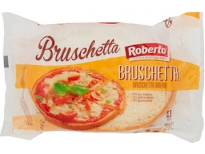 Roberto  pane bruschetta  4 fette gr 400