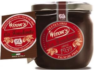 Witor's crema spalmabile • la fondente • la nocciola gr 360