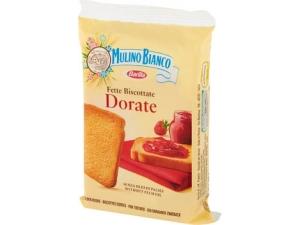Mulino bianco  fette biscottate • dorate • integrali gr 17