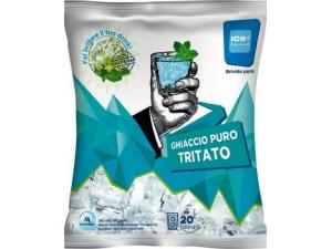 Ice cube ghiaccio puro tritato kg 2