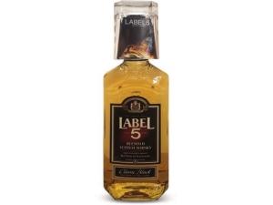 Label 5 scotch whisky con bicchiere omaggio  cl 70