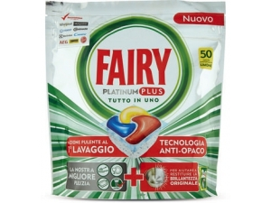 Fairy lavastoviglie  • platinum plus tutto in uno 50 caps • lemon 70 caps