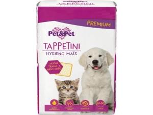 PET&PET  TAPPETINI PER ANIMALI PZ 10 CM 60X90