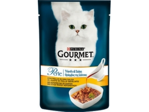 Gourmet perle  filettini per gatto vari gusti gr 85