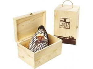 Terre Ducali fiocco di prosciutto nazionale con cofanetto in legno al kg