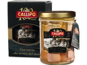 Callipo riserva oro filetti di tonno in astuccio gr 820