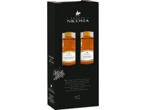 Nicosia  astuccio 2 bottiglie: - zibibbo cl 50 - malvasia cl 50