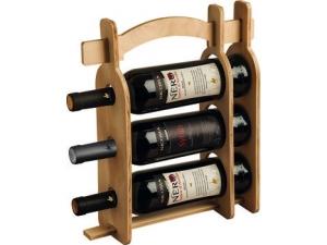 Nicosia cantina in legno 3 bottiglie: - 2 nero d'avola doc cl 75 - 1 syrah igt cl 75