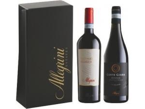 Allegrini  astuccio 2 bottiglie: - valpolicella classico doc cl 75  - ripasso cl 75
