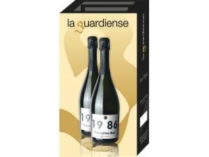 La guardiense confezione 2 bottiglie spumante falanghina brut 1986 cl 75