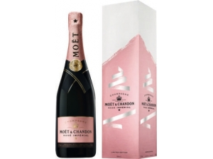 MOET & CHANDON champagne rosé imperial in astuccio cl 75