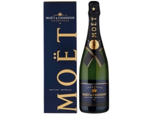 Moet & chandon nectar imperial demi sec in astuccio cl 75
