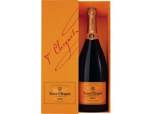 VEUVE CLICQUOT  champagne in astuccio lt 1,5