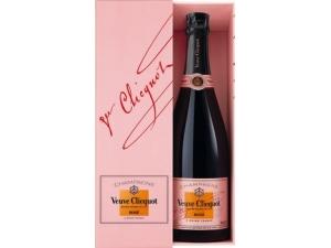 Veuve clicquot champagne rosè in astuccio cl 75