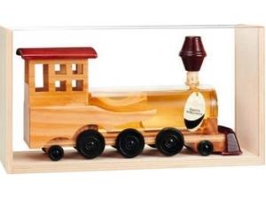 Antica grapperia mazzetti  treno in legno grappa invecchiata 40° cl 20
