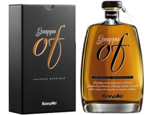 Bonollo grappa amarone barrique in astuccio cl 70