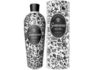 Generous  gin bottiglia in ceramica  con astuccio cl 70
