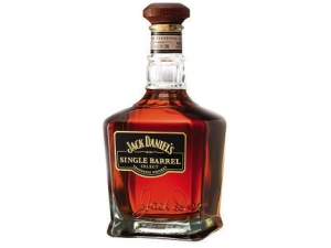 JACK DANIEL'S   SINGLE BARREL WHISKY  in astuccio con 1 bicchiere CL 70