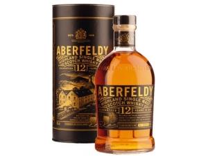 Aberfeldy whisky singolo malto 12 anni in astuccio cl 70