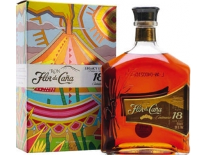 Flor de cana rum centenario 18 years old cl 70