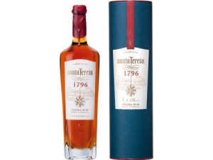 Santa teresa 1796   rum solera  venezuela in astuccio cl 70