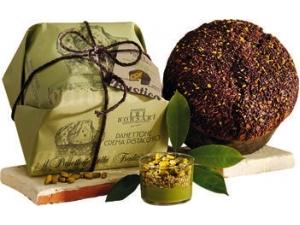 Borsari panettone con crema al pistacchio incartato kg 1
