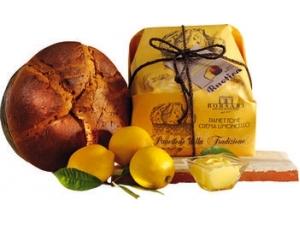 Borsari panettone con crema al limoncello incartato kg 1