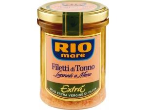 Rio mare  filetti di tonno  • all'olio di oliva  • all'olio extra vergine  di oliva • al naturale gr 180