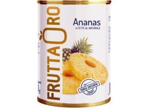 Frutta oro ananas • al naturale • allo sciroppo ml 580