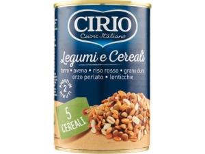 Cirio  legumi e cereali varie ricette gr 400