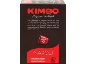 Kimbo caffè napoli compatibile nespresso 40 caps