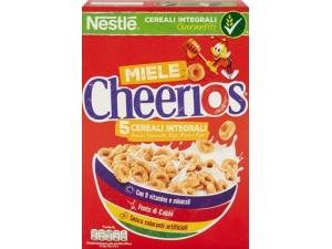 Nestlè cheerios 5 cereali integrali con miele gr 375