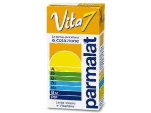 Parmalat vita 7  latte intero uht  e vitamine ml 500