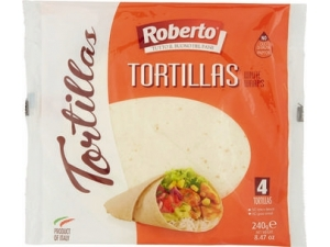Roberto  4 tortillas gr 240