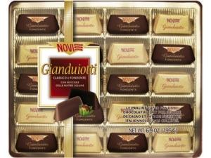 Novi • gianduiotti assortiti - gr 195 • gourmandise assortite - gr 198