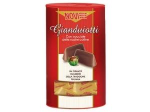 Novi cioccolatini cilindri gold • gianduiotti • cremini gr 200