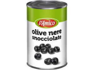D'AMICO  OLIVE NERE SNOCCIOLATE gr 4100