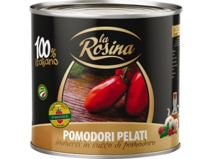 La rosina pomodori pelati gr 2500