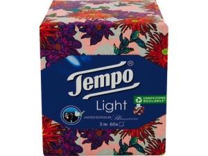 Tempo box fazzoletti light blue marine Pz 60