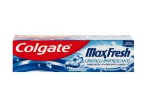 Colgate  dentifricio • max white • max fresh ml 75