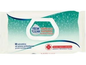 Fresh & clean  salviettine igienizzanti pz 60