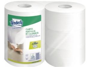 Tenderly carta igienica jumbo mini 6 rotoli 405 strappi