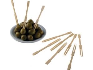 Leone forchetta bamboo  cm 9 pz 100