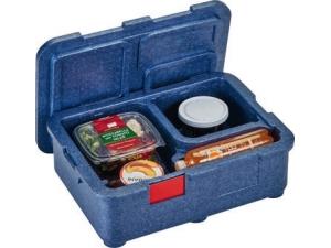Cambro box 4 scomparti per due pasti completi meal box
