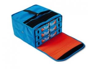 Gi metal borsa termica per 3 cartoni pizza cm 45